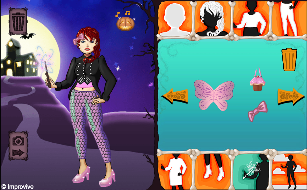 SpookyPartyDressup2