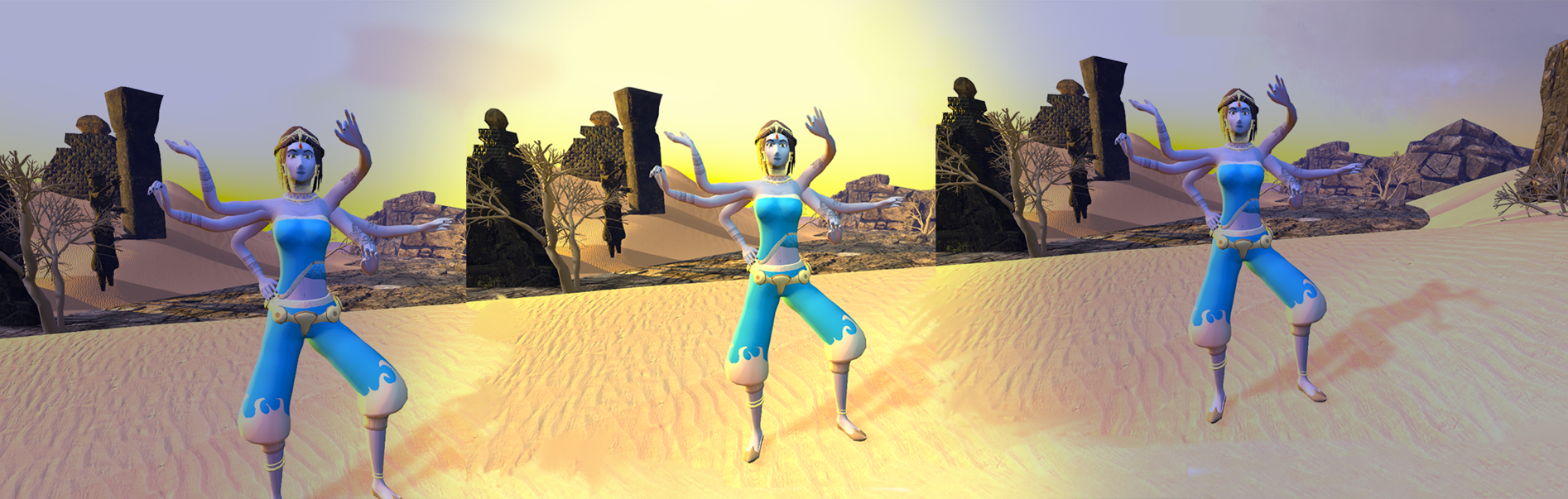 Anamika VR – godin zonder naam