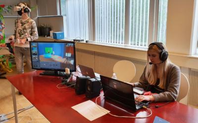 Training in een Virtuele TV studio